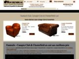 Rochembeau - Fauteuil Club Cuir