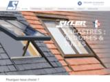 SARL Godest F.T (Skler) : châssis de toîture pour couverture ardoise, tuile, zinc, parisien