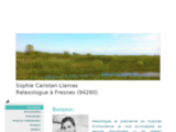Sophie Caristan Llamas Relaxologue Fresnes