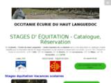 Equitation en Haut Languedoc