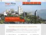 Stages Pérou