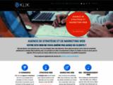 Agence webmarketing Montréal: Klik l