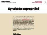 Syndics copropriete