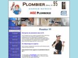 Plombier 95