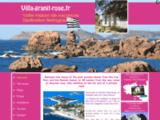 Villa à Tregastel, cote de Granit Rose