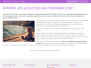 screenshot http://www.1001-peluches.fr 1001 peluches vente de peluches originales