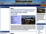 screenshot http://www.1001crash.com 1001 crash – accidents aériens