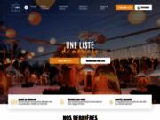 screenshot http://www.1001listes.fr 1001 listes : 1001 idées cadeaux pour votre liste
