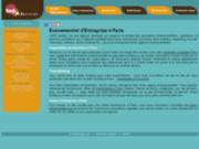 screenshot http://www.100pour100artistes.fr agence artistique 100pour100 artistes