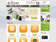 Imprimeur professionnel de magnet 123-magnet