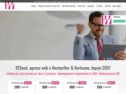 Agence web Montpellier, 123web création des sites internet & référencement SEO