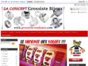 screenshot http://www.2aconcept.com grossiste bijoux fantaisie toulouse