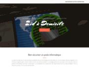 screenshot http://www.2idadomicile.com initiation et dépannage informatique nîmes et gard