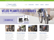 screenshot http://www.2rouesvertes.com 2 roues vertes : spécialiste du vtt électrique