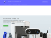 3DAvenir - Spécialiste imprimante 3D, scanner 3D et logiciel 3D