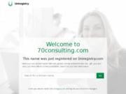 screenshot http://www.70consulting.com consulting pologne - créer sa société ou son entreprise en pologne