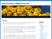 screenshot http://www.a-belle-ile.fr location bretagne  :  belle ile