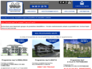 screenshot http://www.a-cimmobilier.com AC Immobilier