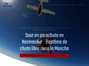 screenshot http://www.aair-parachutisme.fr aair normandie parachutisme