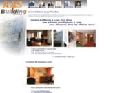 screenshot http://www.aasbuilding.fr centres d'affaires à lyon