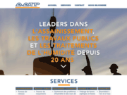 screenshot http://www.aatp.fr Assainissement et lutte contre l'humidité dans votre maison.