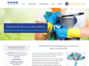 screenshot https://www.ab-seradom.fr/ aides et services à domicile à Sarcelles 95200