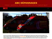 screenshot https://www.abc-depannage-caen.fr ABC Dépannages