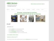 screenshot http://abcd-dechets.com traitement déchets - presse à balle - broyeur - compacteur