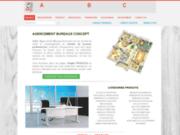 screenshot http://www.abcdif.fr amenagement bureau conseil