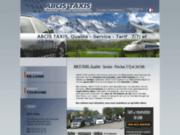 Taxi aéroport de Lyon, taxi Grenoble, taxi Chambéry, Genève vers les stations de ski des Alpes