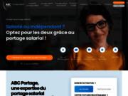 screenshot http://www.abcportage.fr abc portage - portage salarial - paris, lille, lyon, nantes