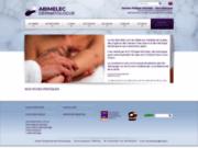 screenshot http://www.abimelec.com dr abimelec-dermatologue