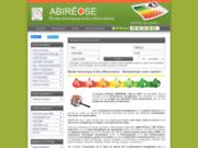 screenshot http://www.abireose.fr j'ose économiser l'énergie chez moi !