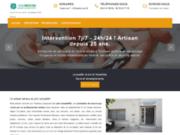 screenshot http://abisse-serrurerie.fr Abisse serrurerie Toulouse