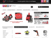 screenshot http://www.abmoutillages.com/ outillages professionnel