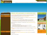 screenshot http://www.aboxia.fr aboxia, fabricant et constructeur de maisons bois