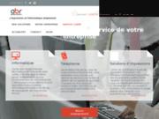 screenshot http://www.abr-solutions.fr informatique