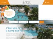 screenshot https://www.abridespins.com L'Abri des Pins