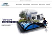 screenshot http://www.abrinoval.com abri de piscine abrinoval