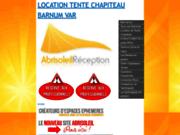 ABRISOLEIL RECEPTION Location de Tentes et Chapiteaux