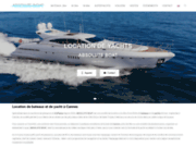 screenshot http://www.absoluteboat.com/ location de bateau à Cannes