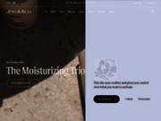 screenshot https://www.absolution-cosmetics.com/fr/ Produits de beauté bio