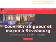 Couvreur-Zingueur et maçon à Strasbourg dans le Bas-Rhin