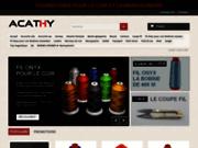 screenshot http://www.acathy.com sacs en cuir