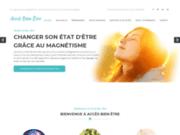 screenshot https://www.acces-bien-etre.fr/ Accès bien-être