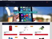 screenshot http://www.accessoire-discount.com/ Coque et Housse pour LG Optimus et Samsung Galaxy