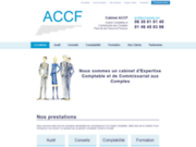 screenshot http://www.accf-experts.com AUDIT CONSEILS COMPTABILITE FORMATION