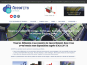 screenshot http://www.accofits.fr/ accofits - transports de fluides