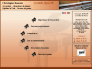 screenshot http://www.accordeurpianos-romain.fr accordeur de pianos dans les alpes-maritimes 06