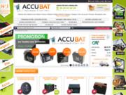 screenshot http://www.accubat.fr accubat